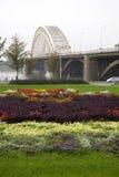 bridge1奈梅亨 图库摄影