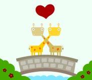 Bridged love Royalty Free Stock Photos
