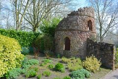 Bridgemere garden centre. Bridge mere garden centre in early spring Stock Image