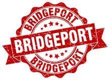 Bridgeport round ribbon seal Royalty Free Stock Photography