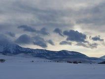 Bridger pasmo górskie zdjęcia royalty free
