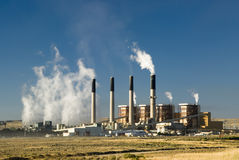 Bridger Power Plant Stock Photo