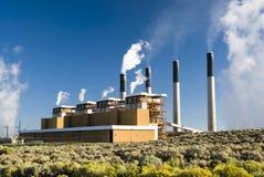 Bridger Power Station royalty free stock image