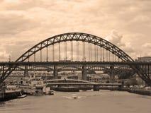The Bridges. Newcastle upon Tyne Royalty Free Stock Photo