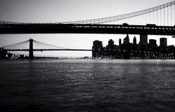 Bridges. New York City bridges stock photos