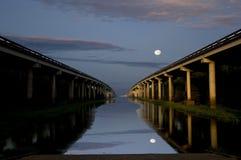 Bridges Across the River Stock Photography