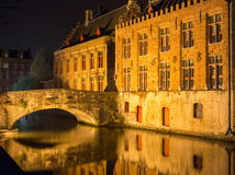 Bridges in Bruges Stock Images