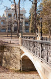 Bridges, buildings, Kislovodsk Royalty Free Stock Photos