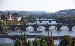 Bridges. Charles Bridge, Prague, Czech Republic Stock Images
