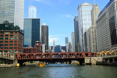 bridges chicago arkivbilder
