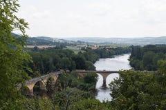 Bridges in the Dordogne Royalty Free Stock Image
