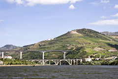 Bridges of the Douro River Stock Photo