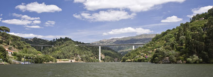 Bridges of the Douro River Royalty Free Stock Photography