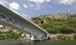 Bridges of the Douro River Stock Images