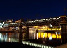 bridges dublin Arkivbild