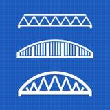 Bridges Engineering Graphic Illustration design Stock Photo