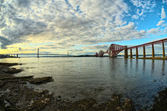 Bridges, Firth of Forth, Scotland Stock Photo