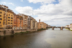 Bridges in Florence, Italy Stock Photography