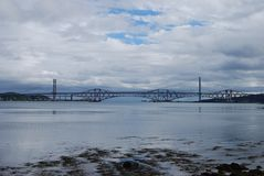 Bridges In Forth Royalty Free Stock Photography