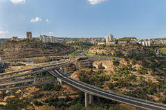 Bridges in Haifa Stock Photography