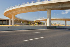 Bridges and highway. Royalty Free Stock Images