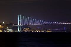 Bridges of Istanbul Stock Image