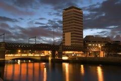 bridges liffey Royaltyfria Bilder