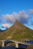 Bridges on Lofoten Stock Image
