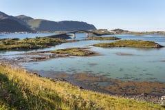 Bridges in Lofoten Islands, Norway Stock Photos