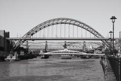 bridges mono Fotografering för Bildbyråer