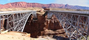 bridges navajoen royaltyfria bilder
