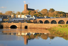 Bridges of Neport Town Stock Image