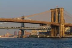 bridges new york Στοκ φωτογραφία με δικαίωμα ελεύθερης χρήσης