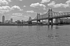 bridges New York Royaltyfria Foton