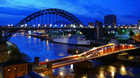 Bridges of Newcastle Royalty Free Stock Photos
