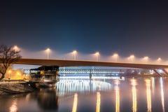 Bridges at night Royalty Free Stock Image