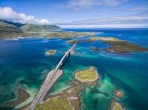 Bridges in Norway Royalty Free Stock Photo