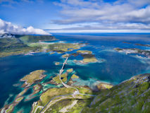 Bridges in Norway Royalty Free Stock Photos