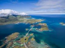 Bridges in Norway Royalty Free Stock Photos