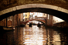 Free Bridges Of Venice Royalty Free Stock Image - 15093826