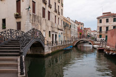 Bridges over the canals Royalty Free Stock Photography