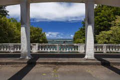 Bridges over inlet at Hilo, Hi Royalty Free Stock Photography