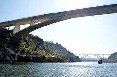 Bridges over the river Douro Royalty Free Stock Image