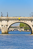 Bridges over the River Seine Royalty Free Stock Photos