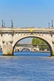Bridges over the River Seine Royalty Free Stock Photos