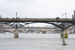 Bridges over the River Seine Royalty Free Stock Photography
