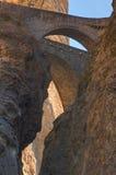 Bridges over Viamala canyon, Switzerland Stock Image