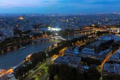 Bridges of Paris on a decline Stock Photo