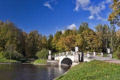 Bridges in the park Stock Photo
