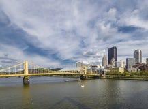 Bridges of Pittsburgh Stock Photography